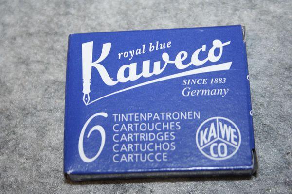 Kaweco - Fountain Pen Ink Cartridges - Royal Blue - Blue Ink