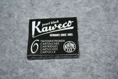 Kaweco Ink Cartridges - Pearl Black Fountain Pen Ink