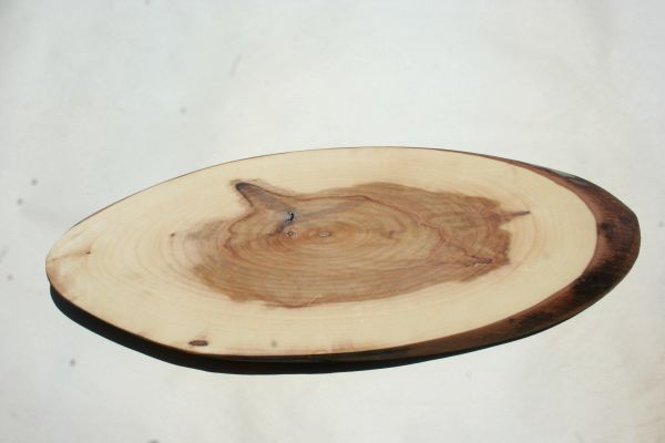 Handcrafted (Medium Oval) Live Edge Walnut Hardwood Cheese Board/Charcuterie Board