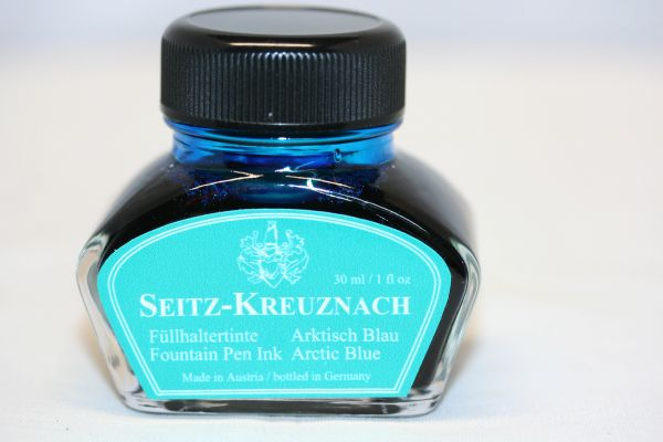 Fountain Pen Ink - Seitz-Kreuznach Ink - Arctic Blue Ink - Blue Ink - Fountain Pen Ink - Bottled Ink