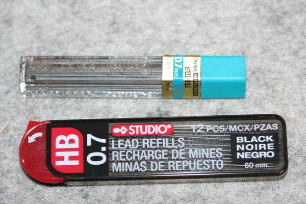 Pencil Leads - Pencil Leads 0.7 mm - 0.7 mm Pencil Leads