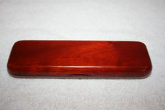 Handcrafted Rosewood Single Pen Box