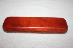 Handcrafted Wooden Box - Rosewood Double Pen Box