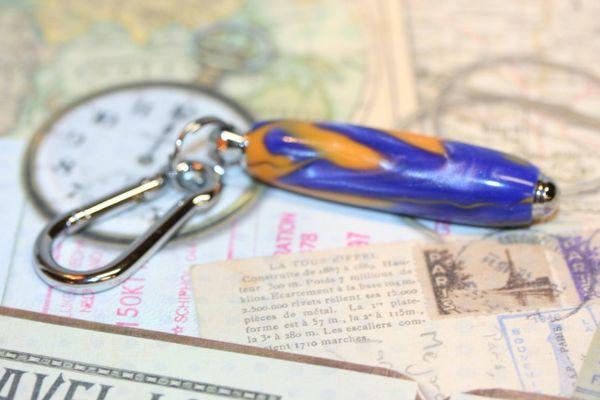Keychain - Carabiner - Gator Alley Acrylic - Key Holder - Pocket Hook - Key Fob - Chrome keychain - Belt Clip - Keys - Key Chain