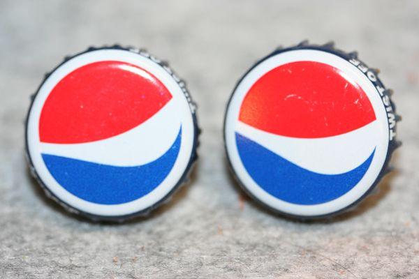 Cuff Links - Pepsi Soda - Bottle Cap Cufflinks - Soda Cap Cufflinks - Groomsman Gift - Jewelry