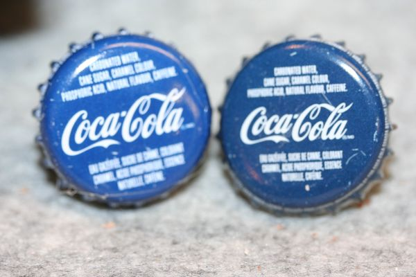 Cuff Links - Quebec Maple Coca Cola - Bottle Cap Cufflinks - Soda Cap Cufflinks - Groomsman Gift - Jewelry