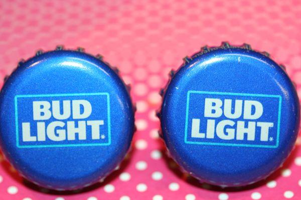 Bud Light (Canada) Beer Bottle Cap Cufflinks