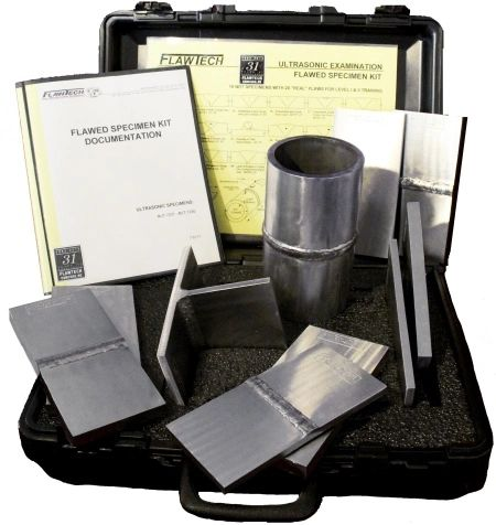 FlawTech UK-1 - Standard UT Kit (Ultrasonic Testing)