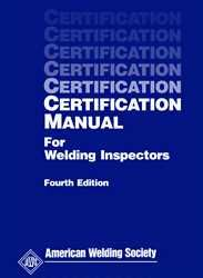CM Certification Manual for Welding Inspectors