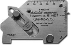 Bridge Cam Gauge, Inches/Milimeters (GG-4)
