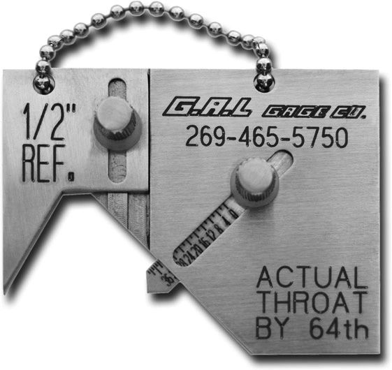Socket Weld Gauge, Mini Sub, Inch or Metric, GG-14