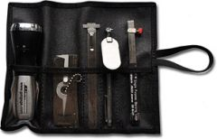 GG-12-WAP - Welding Inspection Tool Kit, Wrap-Around Pouch, INCH or METRIC