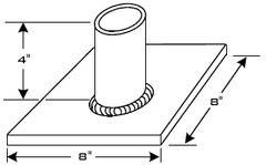 FlawTech-P105 Node to Plate Weld