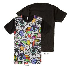 Eyes and Cubes Graffix Shirt