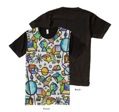 Cosmic Geometric Graffix Shirt