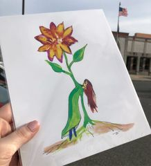 "8x10"" Print ""Grow with Me"""