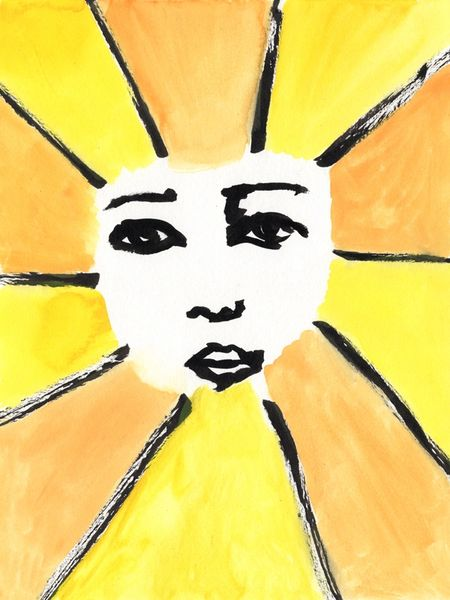 "Let The Sun Shine - 18x14"" Print (Unframed)"