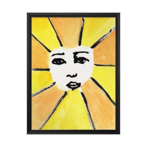 "Let The Sun Shine - 18x14"" Print (Framed)"