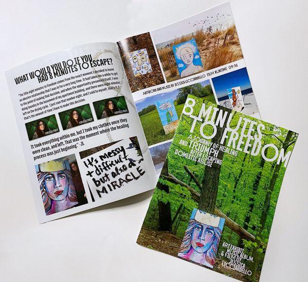 Exhibition Magazine with Digital Film Pass QR code