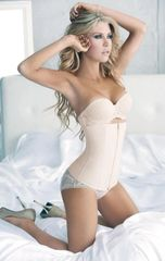 Nude Lux Zipper Waist Shaper