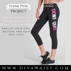 Don't Quit Capri Sports Pants