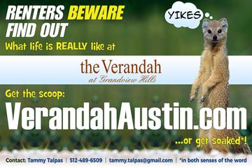 Days since I decided to start a site about life at Verandah at Grandview Hills (Bassham Properties).