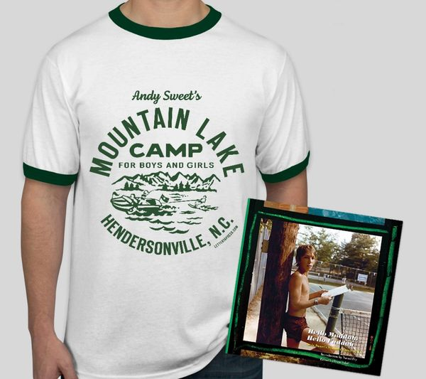 Camp Mountain Lake T-Shirt & Hello Muddah, Hello Faddah: Andy Sweet's Summer Camp 1977 Book