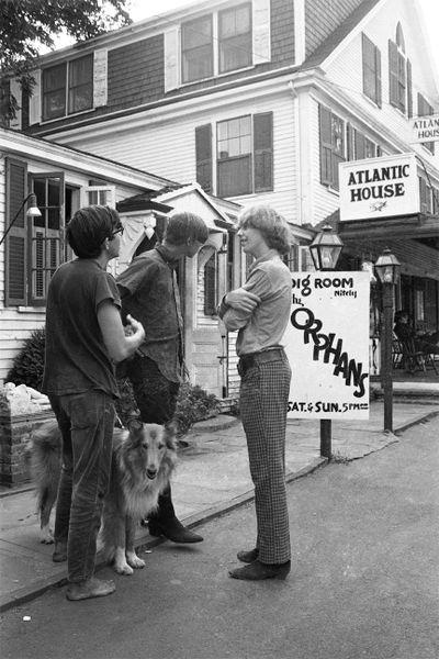 Al Kaplan: Atlantic House, Provincetown, July 1966