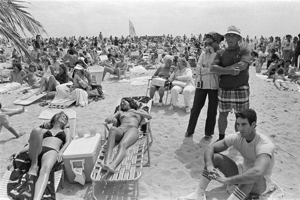 Charles Hashim: Miami Beach, circa 1979