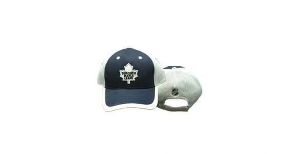 TORONTO MAPLE LEAFS WHITE BLUE NHL HOCKEY LOGO HAT CAP .. NEW