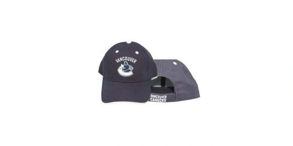 VANCOUVER CANUCKS BLUE NHL HOCKEY LOGO HAT CAP .. NEW