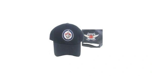 WINNIPEG JETS BLUE NHL HOCKEY LOGO HAT CAP .. NEW