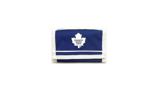 TORONTO MAPLE LEAFS NHL HOCKEY LOGO TRI - FOLD WALLET .. NEW