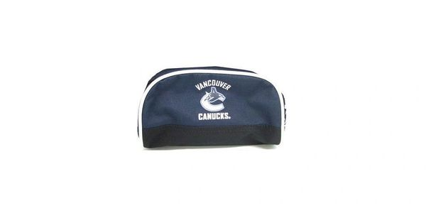 VANCOUVER CANUCKS NHL HOCKEY LOGO PENCIL CASE .. NEW