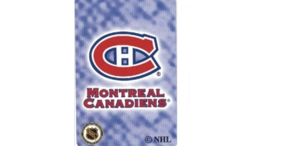 MONTREAL CANADIENS NHL HOCKEY LOGO PLAYING CARDS.. NEW