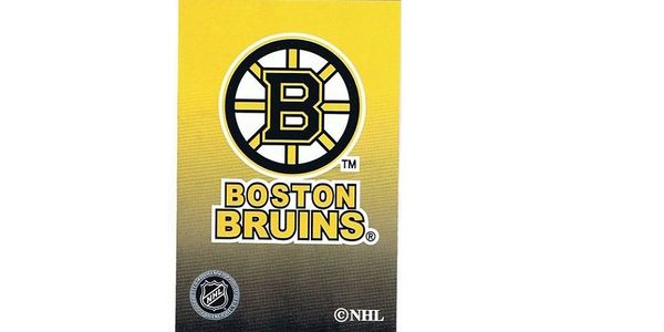 BOSTON BRUINS NHL HOCKEY LOGO PLAYING CARDS.. NEW