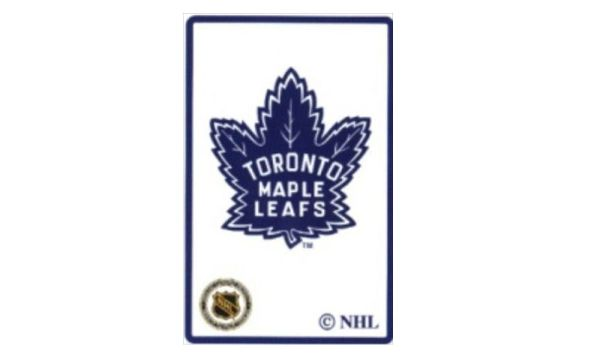TORONTO MAPLE LEAFS OLD NHL HOCKEY LOGO PLAYING CARDS.. NEW