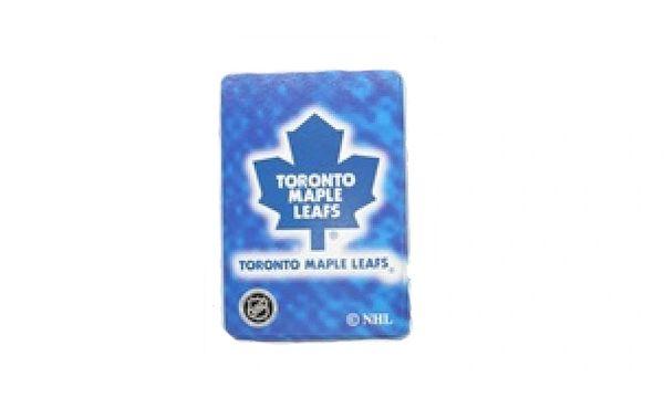TORONTO MAPLE LEAFS NHL HOCKEY LOGO PLAYING CARDS .. NEW