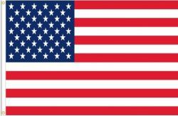USA LARGE 3' X 5' FEET COUNTRY FLAG BANNER .. NEW AND IN A PACKAGE .. NEW AND IN A PACKAGE