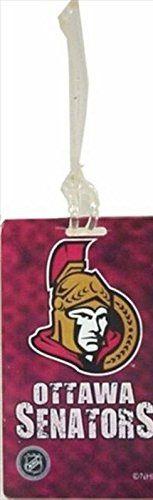 "OTTAWA SENATORS NHL HOCKEY LOGO LUGGAGE TAG .. SIZE : 2 5/16"" X 4 3/8"" INCHES .. NEW"