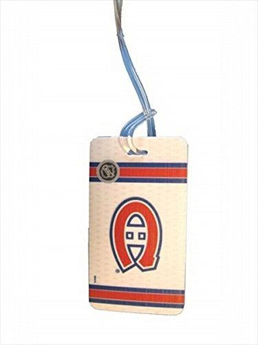 "MONTREAL CANADIENS NHL HOCKEY LOGO LUGGAGE TAG .. SIZE : 2 5/16"" X 4 3/8"" INCHES .. NEW"