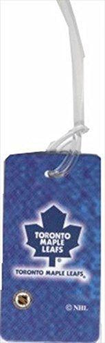 """TORONTO MAPLE LEAFS NHL HOCKEY LOGO LUGGAGE TAG .. SIZE : 2 5/16"""" X 4 3/8"""" INCHES .. NEW"""