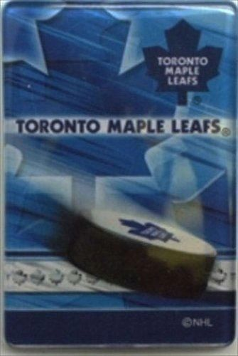 "TORONTO MAPLE LEAFS NHL HOCKEY LOGO ACRYLIC MAGNET .. SIZE : 2"" X 3"" INCHES .. NEW"