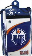 EDMONTON OILERS NHL HOCKEY LOGO FLIP NOTEPAD & PEN .. NEW