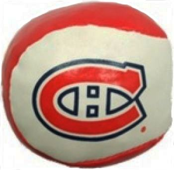 MONTREAL CANADIENS HACKEY SACK NHL HOCKEY LOGO NAUGHTY BALL.. NEW