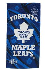 "TORONTO MAPLE LEAFS NHL HOCKEY LOGO BEACH TOWEL .. SIZE : 56"" X 28"" INCHES .. .. .. NEW"