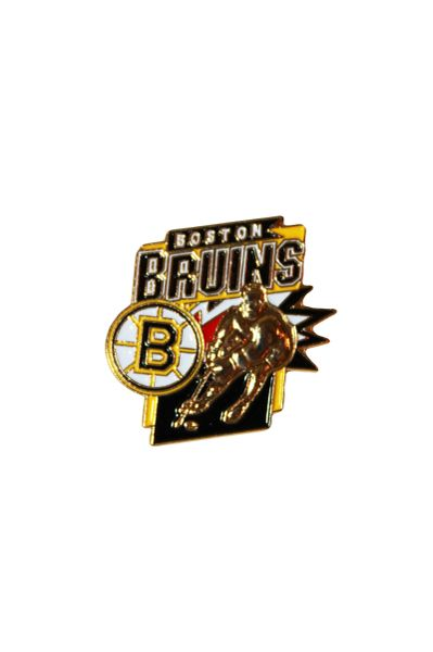 BOSTON BRUINS NHL HOCKEY LOGO PLAYER PICTURE LAPEL PIN BADGE .. NEW
