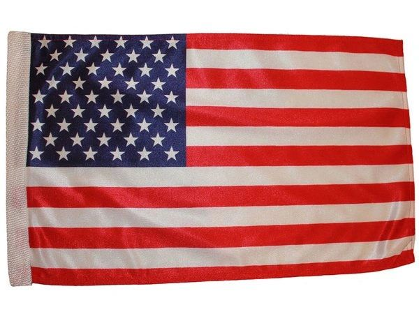 "USA COUNTRY HEAVY DUTY CAR FLAG WITH SLEEVE WITHOUT STICK.. SIZE : 12"" X 18"" INCHES.. NEW"