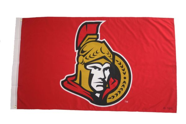 OTTAWA SENATORS 3' X 5' FEET NHL HOCKEY LOGO FLAG BANNER