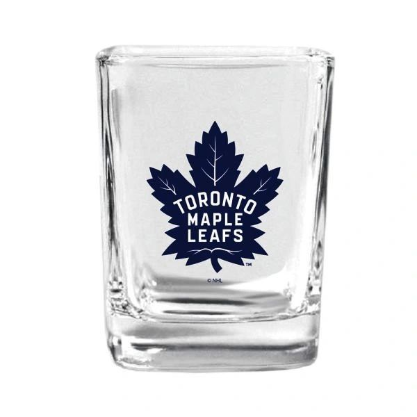 TORONTO MAPLE LEAFS NHL HOCKEY ( NEW ) LOGO 1.5 OZ SQUARE SHOTGLASS